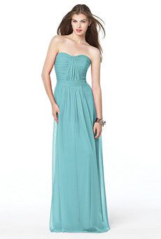 Blue Bridesmaid Dresses Photos | Brides.com