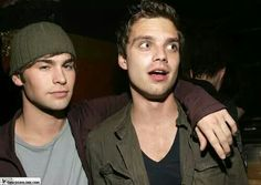 Sebastian Stan and Chace Crawford