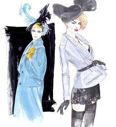 John Galliano Fall 2008,  Christian Dior Fall 2009