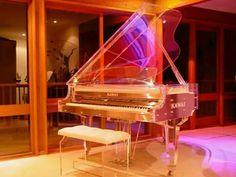 Glass Piano