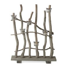 Horizontal 6 Candle Holder | 50x66cm by Natural Beauty on Brands Exclusive