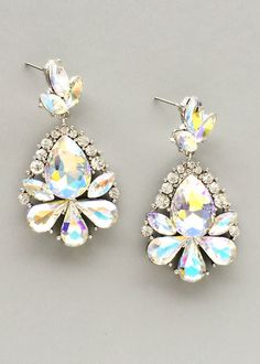 Perfect for evening wear - Crystal Aurora Earrings