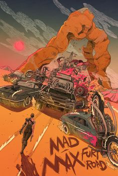 Movie Poster Movement — Mad Max Fury Road by Yin Shian Ng Mad Max Fury Road, Best Movie Posters, Movie Poster Art, Mad Max Poster, Vivre A New York, Wallpaper Animes, Hd Wallpaper, Wallpapers, Alternative Movie Posters