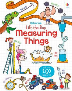 """Find out more about """"Lift-the-flap measuring things"""", write a review or buy online."""