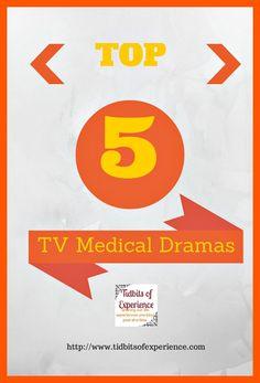 Throwback Thursday: Top 5 TV Medical Drama Shows on Netflix - http://www.tidbitsofexperience.com/throwback-thursday-top-5-tv-medical-drama-shows-on-netflix/ Entertainment, movie reviews