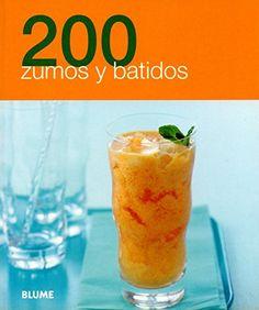 Libro excelente para preparar ricos zumos, batidos, smoothies, licuados, jugos