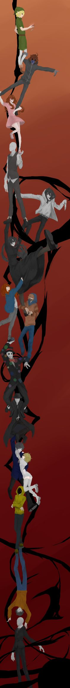 Durarara x Creepypasta Scary Creepypasta, Creepypasta Proxy, Creepy Stories, Horror Stories, Creepy Pasta Family, Eyeless Jack, Ben Drowned, Jeff The Killer, Durarara
