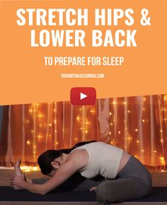 Before you get ready for bed, set aside about 15 minutes to try these stretches and see the difference in your sleep tonight. Yoga Youtube, Free Youtube, Become A Yoga Instructor, Free Yoga Videos, Vinyasa Yoga, Yin Yoga, Yoga For Beginners, Life Inspiration, Best Self