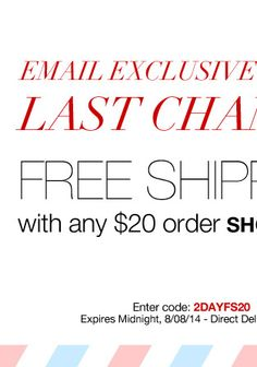 Free Shipping with any $20 Order http://www.youravon.com/latonja