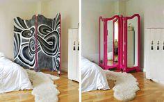 Ideas para decorar con biombos modernos