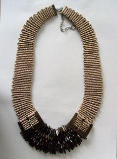 Tassel Necklace, Jewerly, Origami, Handmade, Fashion, Moda, Jewlery, Hand Made, Fashion Styles