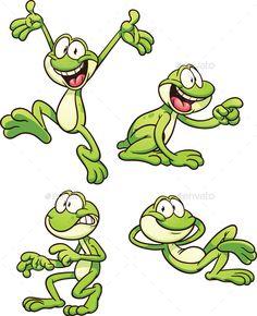 Cartoon Frog - Animals Characters