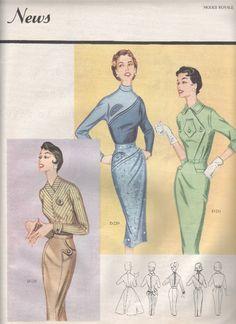 1955/56 Modes Royale catalog