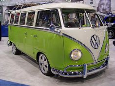 and now for something completely different.....The VW Microbus.   great for camping