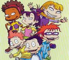 Rugrats: All Grown Up ~ Susie, Angelica, Kimi, Chuckie, Tommy Dil Rugrats Characters, Comic Book Characters, Reptar Rugrats, Rugrats All Grown Up, Nickelodeon Cartoons, Old Shows, Glitter Graphics, Cartoon Shows, 90s Kids
