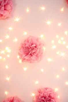 We can craft up some fun puffs and garlands and do a self photo booth!!