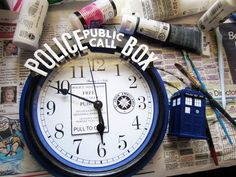 DIY Doctor Who clock