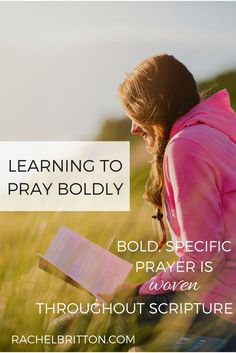 Today, I welcome Sarah Geringer to the #BeBoldGirl series. She is taking some bold steps in her life these days and I know her words will inspire you to do the same. Welcome, Sarah! In my current season of big changes, I'm learning to pray boldly. This week I announced my intent to quit my...