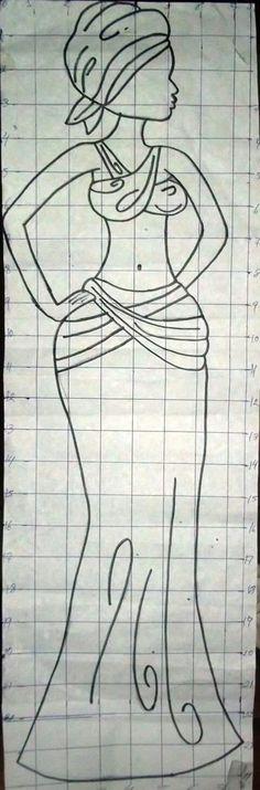 Africanas Egyptian Drawings, African Art Paintings, Africa Art, Glass Butterfly, Mural Wall Art, Black Women Art, Bottle Art, Art Plastique, String Art