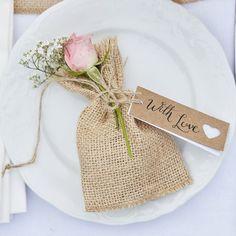Etiquettes kraft coeur - mariage - wedding - marque place