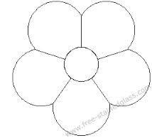 flower templates to cut out google zoeken templates