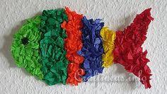 Craft for Kids - Paper Craft - Hanging Fish Decoration