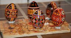 How to varnish pysanky