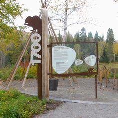Élément du parc parcours du parc national du Lac-Témiscouata (Sépaq). Groupe GID 2013