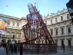 The Tatlin Tower at Royal Academy by AndyRobertsPhotos, via Flickr
