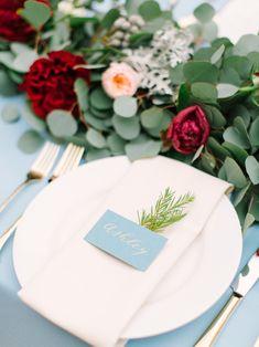 Mint Photography| via Style Me Pretty|Pocketful of Sunshine Event Design Inspiration: Dusty Blue