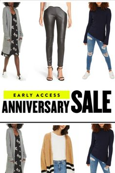 Nordstrom Anniversary Sale - Early Fashion Faves $50 - $60. #shopping #nordstromanniversarysale