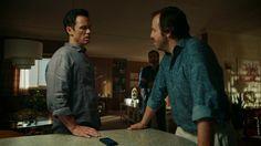 "Shut Eye 1x07 ""Two of Swords"" - Charlie Haverford (Jeffrey Donovan), Fonso (Angus Sampson) & Terry (Luke Camilleri)"