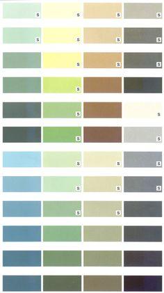 Przykładowa paleta kolorów