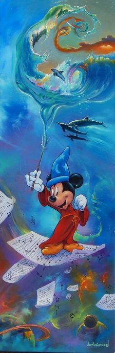 *MICKEY MOUSE, The SORCER's APPRENTICE ~ Fantasia