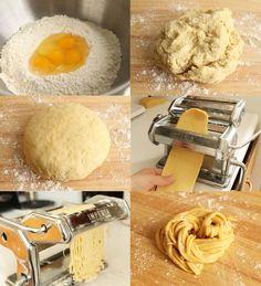6 semplici passi per preparare la buona pasta fatta in casa