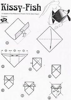 O QUE É MEU É NOSSO: Origami com Movimento (Action) - Peixe Beijador - Kissy Fish - Junior Jaquet