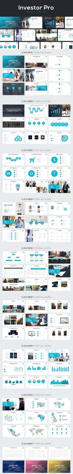 Main expo free powerpoint template Presentation Design - powerpoint brochure template