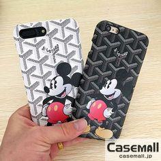 ゴヤール iphone8ケース ミッキー Goyard iphone8 カバー ハード アイフォン7 7sケース 可愛い