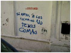 Vegetarianos. En Córdoba.