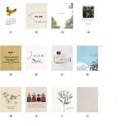 and, spring, desktop calendars