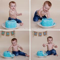 Carter's Cake Smash! » Brittney Bietz Photography
