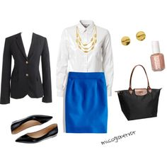 """Professional Attire 1"" by missglobetrot on Polyvore"