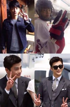 Seo In Guk - Ready for his new drama to start. King of High School