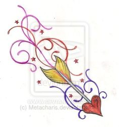Sagittarius Tattoo by Metacharis