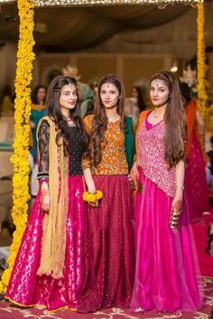 For Eraj s sharara. Mehendi Outfits, Pakistani Wedding Outfits, Pakistani Dresses, Indian Outfits, Wedding Dresses For Girls, Party Wear Dresses, Girls Dresses, Stylish Dresses, Fashion Dresses