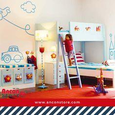 #Ideas | Plantear la decoración y la distribución de un dormitorio de niños puede ser una tarea sencilla si se eligen muebles modulares. ¿Qué te parecen estos diseños? http://www.micasarevista.com/dormitorios-infantiles/dormitorio-juvenil-con-muebles-modulares?utm_content=buffera6069&utm_medium=social&utm_source=pinterest.com&utm_campaign=buffer