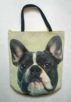 Looking for perfect Christmas present? 3D Bag with Face of French Bulldog Black & White. – Limitless Bags UK