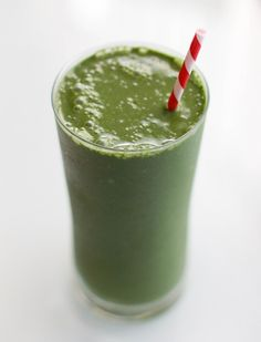 Green Goddess Smoothie - Have this as a meal replacement to slim down for summer!!.