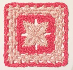 "Forever Lace - 6"" block pattern"
