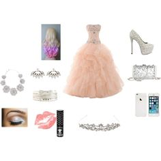 """Prom Queen"" by san-san-441996 on Polyvore"